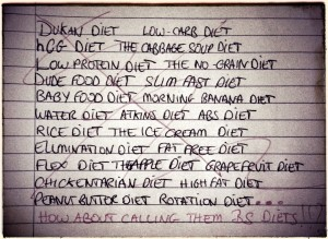 stoppons les régimes