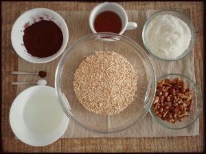 ingrédients Choco Granola